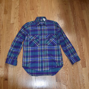 Woolrich Cotton Flannel Button Down Shirt Small